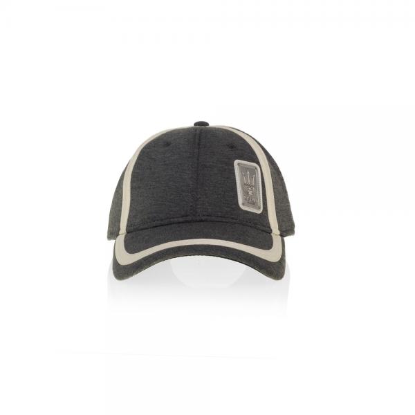 Original Maserati Cap anthrazit weiß Mütze Baseballcap