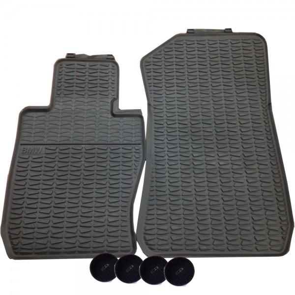 Original BMW Gummimatten Fußmatten vorne X1 E84 xDrive bis 08/2011
