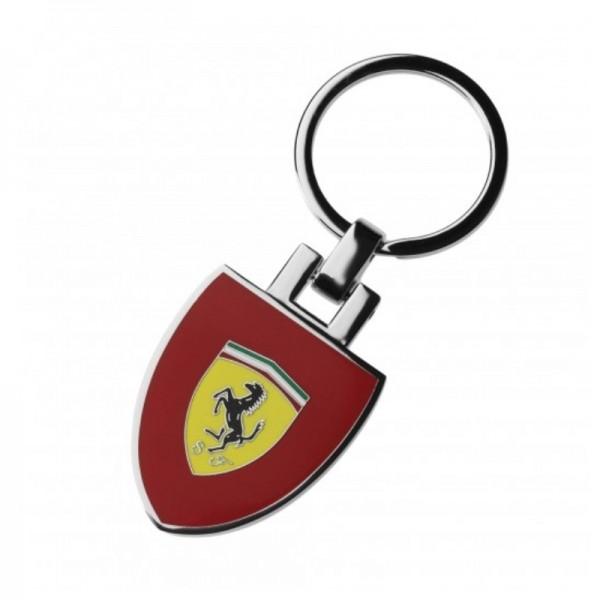 Original Ferrari Schlüsselanhänger Scudetto rot Wappen
