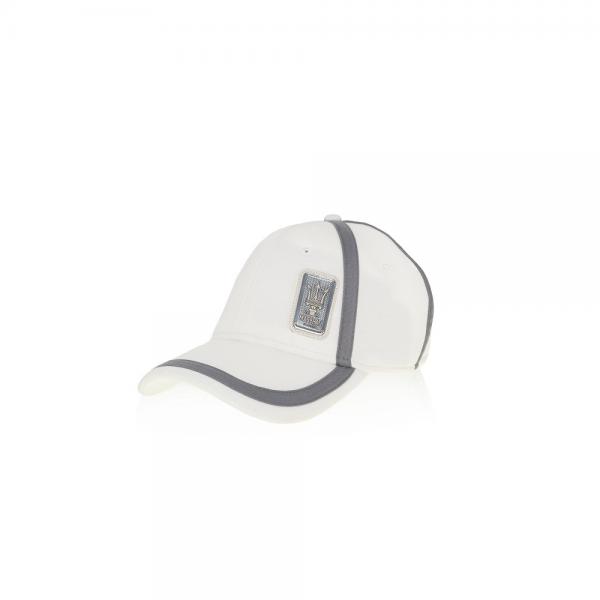 Original Maserati Cap weiß anthrazit Mütze Baseballcap