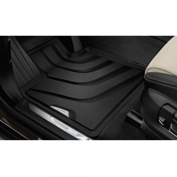 Original BMW X5 X6 Gummimatten Allwettermatten vorne F15 F16