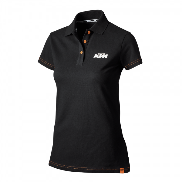 Original KTM Girls Racing Polo Shirt schwarz Gr. L