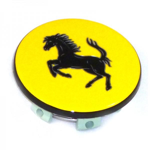Original Ferrari Nabenabdeckung / Nabendeckel gelb