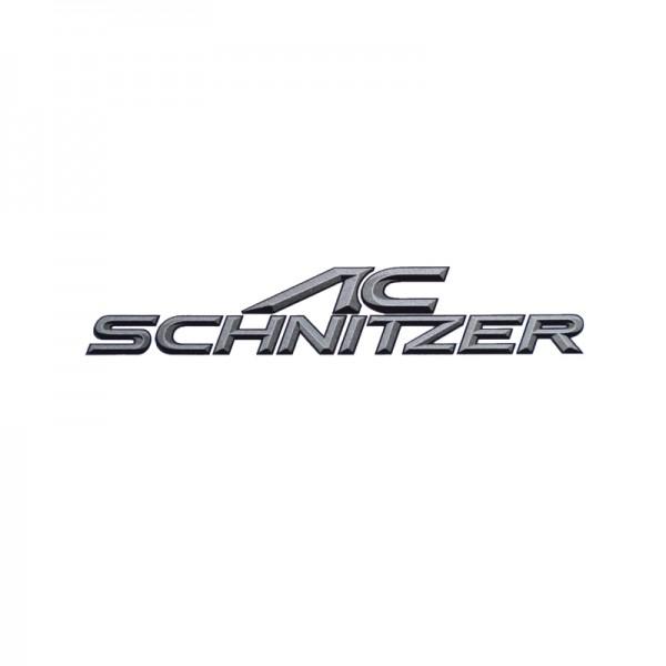 Original AC Schnitzer Emblem / Aufkleber / Plakette selbstklebend 100 x 19 mm