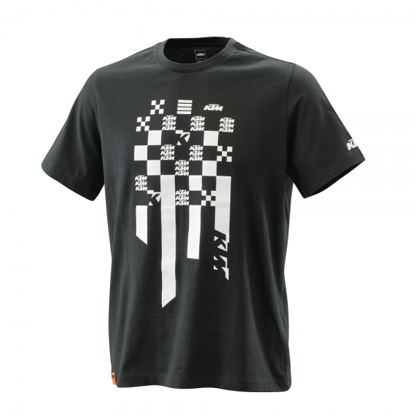 KTM RADICAL SQUARE TEE BLACK T-Shirt