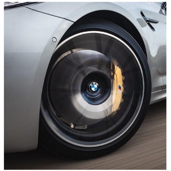 BMW Nabenabdeckung feststehend groß 65mm 1 Satz