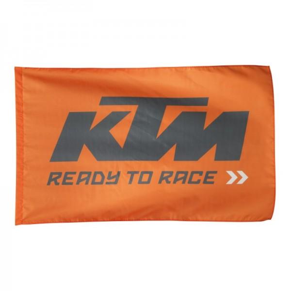 Original KTM Flag Flagge Fahne orange schwarz