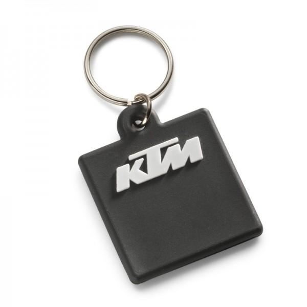 Original KTM Rubber Schlüsselanhänger Ready to Race schwarz