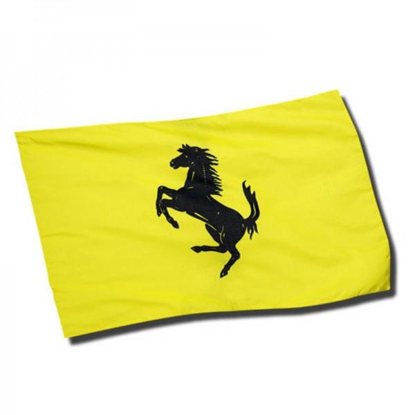 Original Ferrari Flagge / Fahne gelb