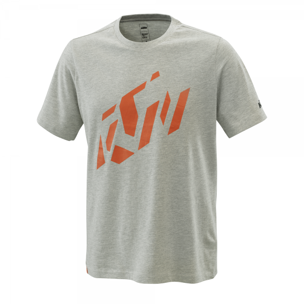 KTM RADICAL SLICED TEE GREY MELANGE T-Shirt