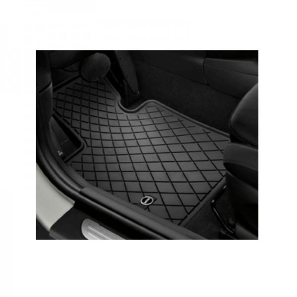 Original MINI Satz Gummimatten / Fußmatten vorne Essential Black F55 F56