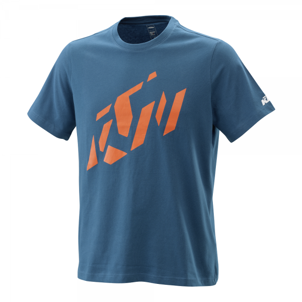 KTM RADICAL SLICED TEE BLUE T-Shirt