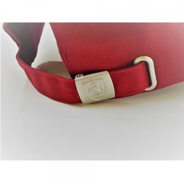 Ferrari Cap Mütze Basecap Tricolore Herren rot