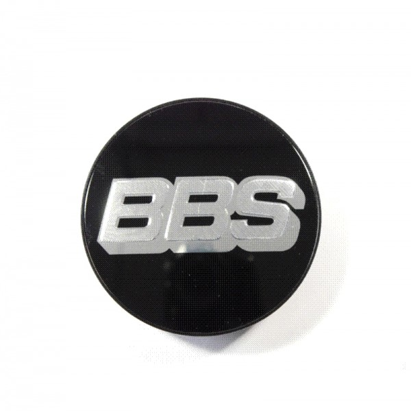Original BBS Symbolscheibe silber-schwarz 70,6mm Nabenabdeckung Nabendeckel