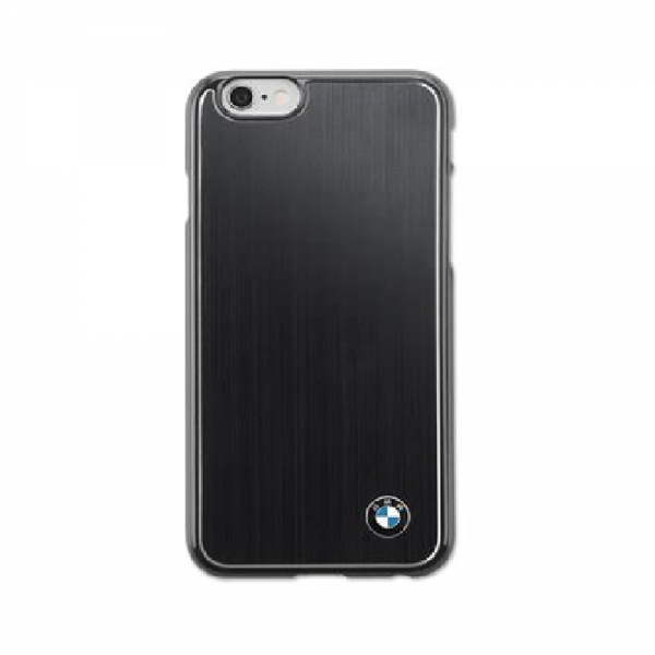 BMW Hartschale Alu iPhone 6 Black Cover Schutzhülle